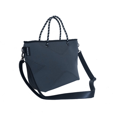 THE XS CROSSBODY / TOTE BAG BLACK