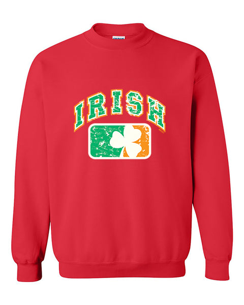 Irish vintage Flag Independence Day, 4th of July Crewneck Sweater