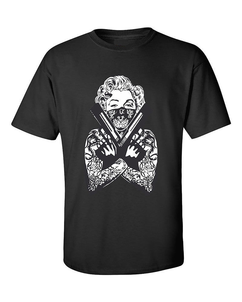 marilyn-monroe-gangster-guns-tattoo-bandana-t-shirt