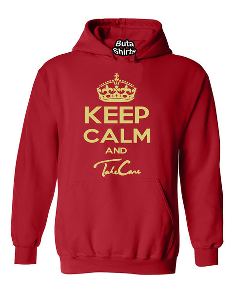 Keep Calm and Take Care Funny Fashion Unisex Hoodie