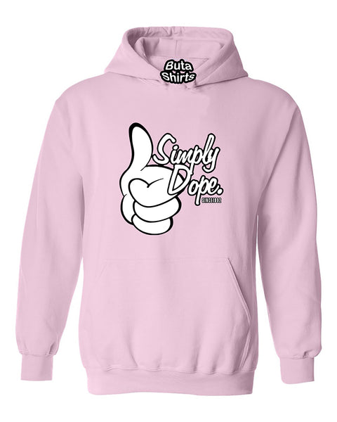 Cartoon Hands Simply Dope Funny Fashion Unisex Hoodie