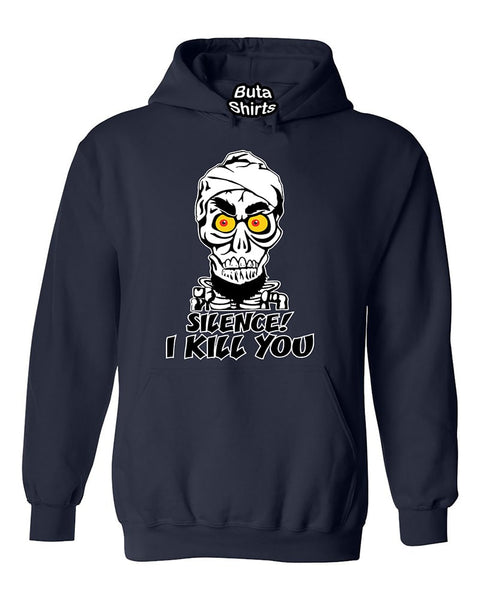 Silence! I'll Kill You Funny Fashion Unisex Hoodie