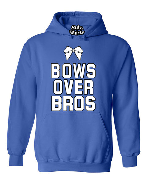 Bows Over Bros  Cute Fashion Unisex Hoodie