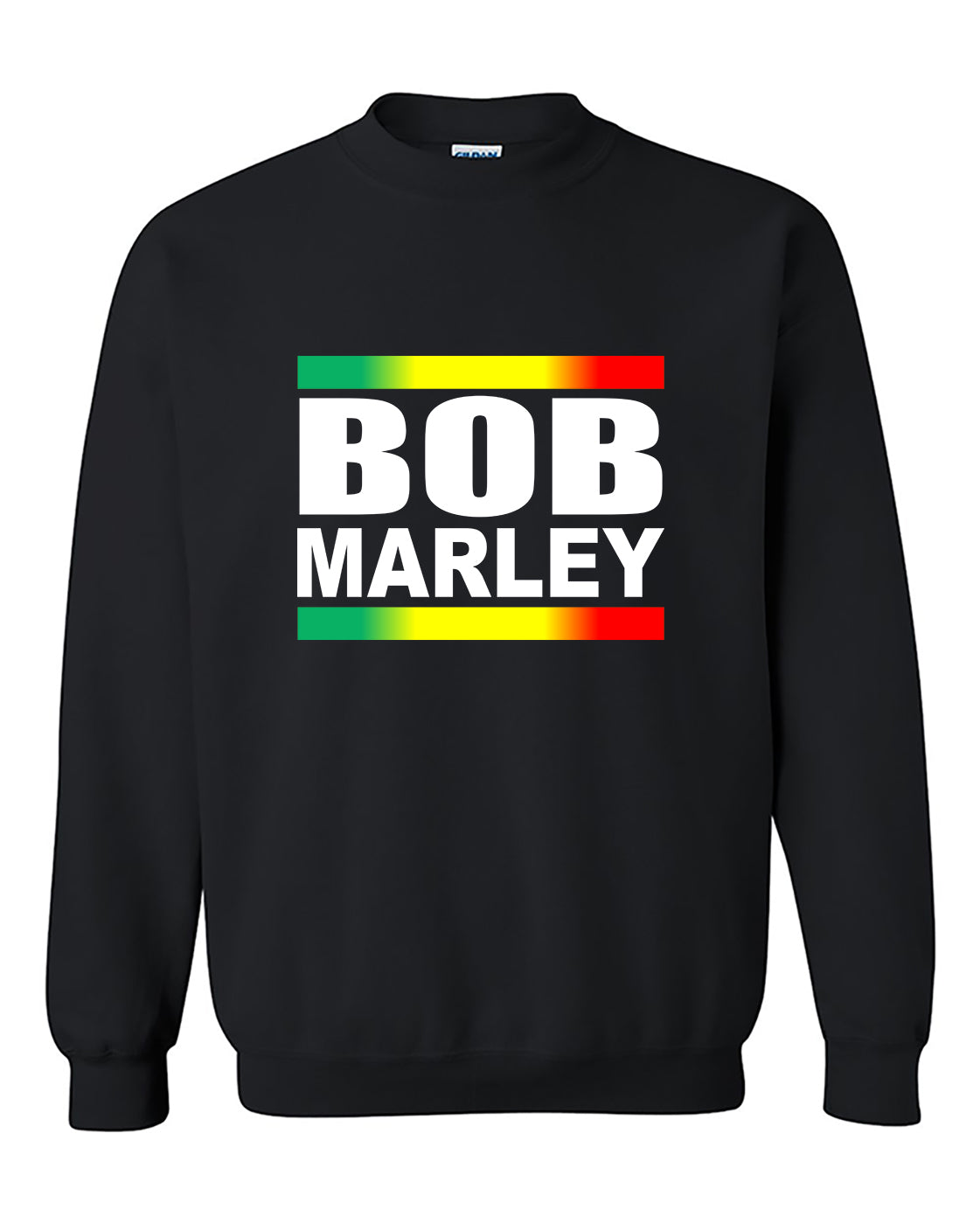 Bob Marley Rasta Weed Smokers Crewneck Sweater