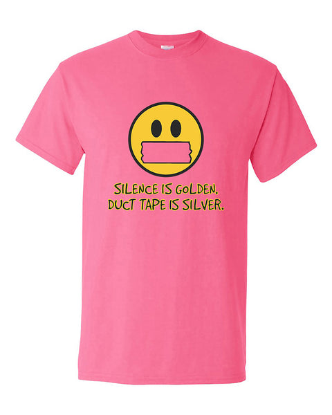 silence-is-golden-duct-tape-is-silver-funny-humour-t-shirt