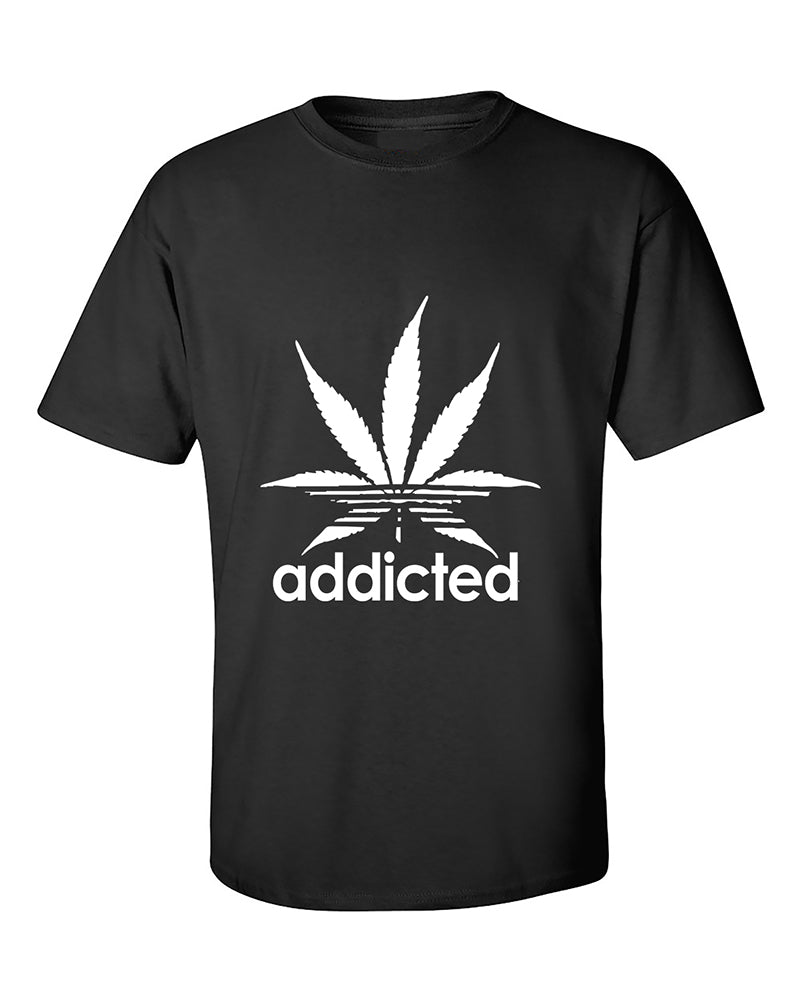 addicted-marijuana-pot-leaf-420-weed-day-stoned-parody-t-shirt