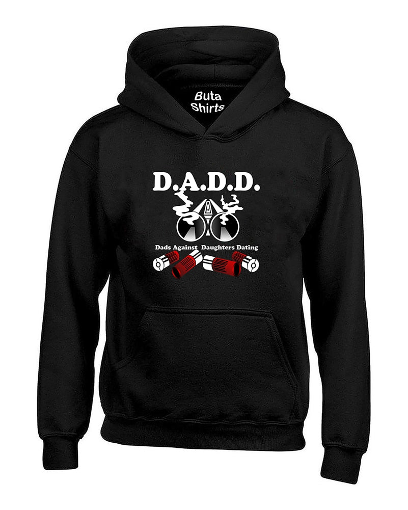 Dads Dad Against Daughters Dating DADD Funny Fathers Day gift Unisex Hoodie