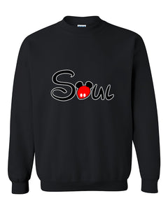 Soul Couples Matching loves Couples Cute Crewneck Sweater