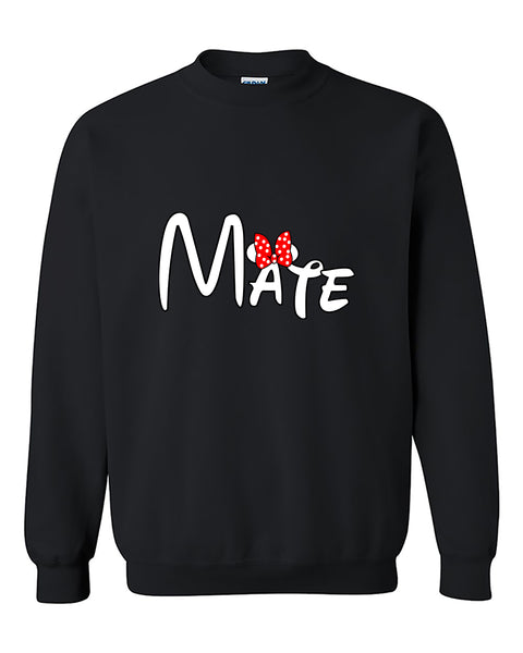 Mate Couples Matching loves Couples Cute Crewneck Sweater
