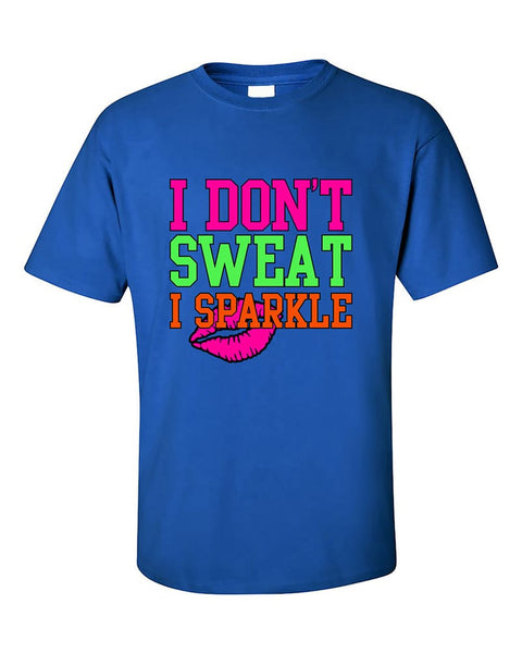 i-dont-sweat-i-sparkle-funny-workout-gym-fitness-t-shirt