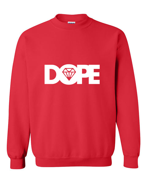 White Dope Diamond Dope Crewneck Sweater