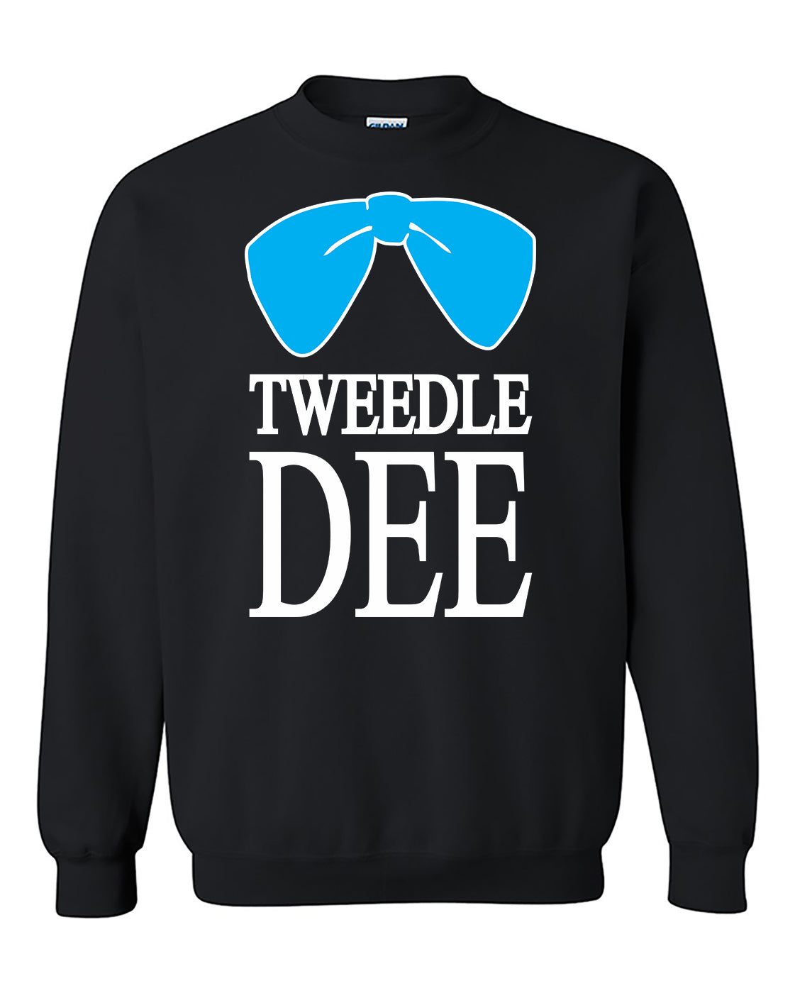 Tweedle Dee Funny Couples Valentine's Day Gift Crewneck Sweater