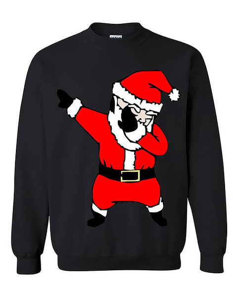 Dab Dance Santa Ugly Christmas Gift Unisex Sweater