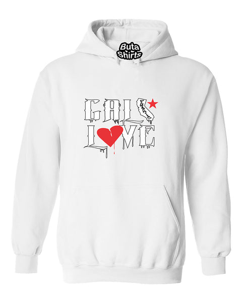 Cali Love California Republic Fashion Unisex Hoodie