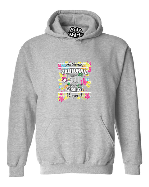 Authentic California Paradise Legend State West Coast Cali Bear Unisex Hoodie