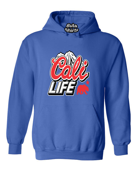 Cali life Mountain and Bear California Republic lifestyle Cali life Unisex Hoodie