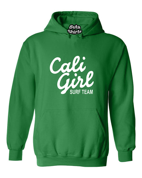 Cali Girl White California Life West Cooast Fashion Unisex Hoodie