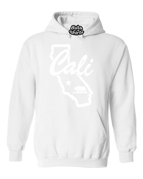 Cali Map California Republic Bear Map Unisex Hoodie
