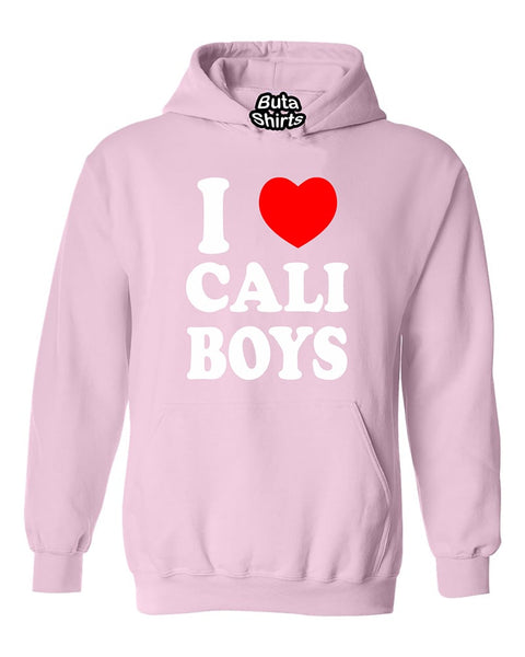 I love Cali boys Cali Girl California Republic West Coast Fashion Unisex Hoodie