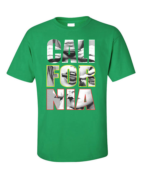 california-rolling-blunt-pattern-weed-smokers-420-joint-t-shirt