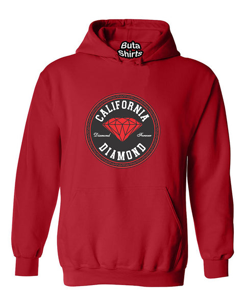 California Red Diamond Forever Unisex Hoodie