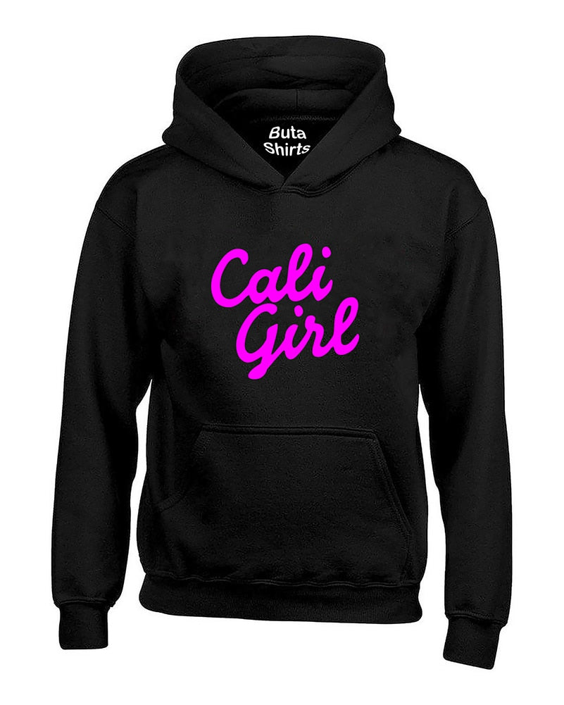 Cali Girl Pink California Life West Cooast Unisex Hoodie