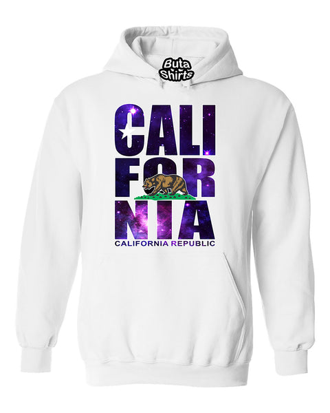 Califronia Republic Galaxy Cosmic State Unisex Hoodie