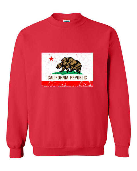 Cali Bears Humping California Republic Bear Flag Funny Fashion Crewneck Sweater