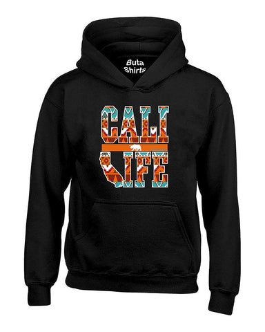 Cali Life Indian Pattern Patriotic Unisex Hoodie