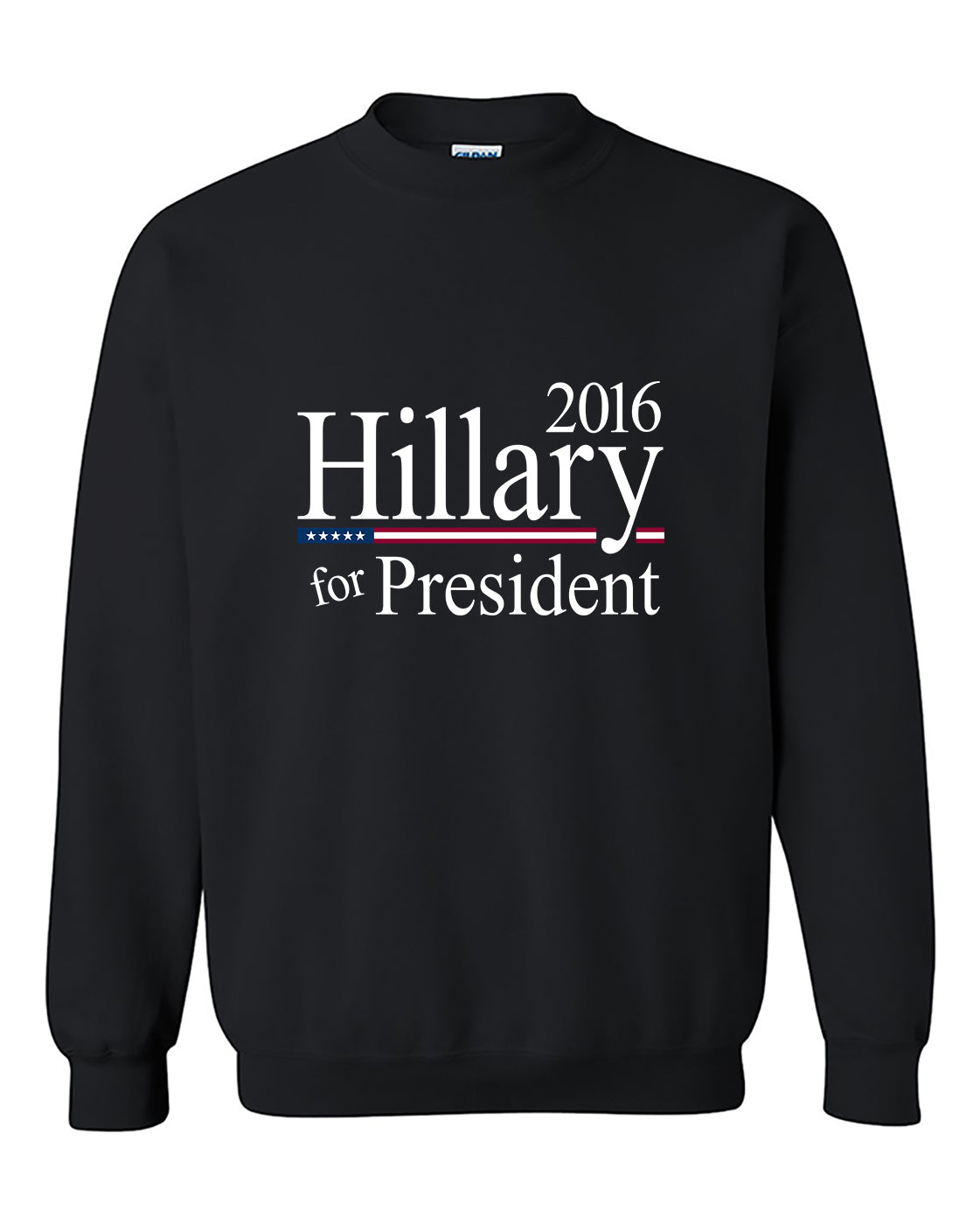 Hilary Clinton President For 2016 American President Crewneck Sweater