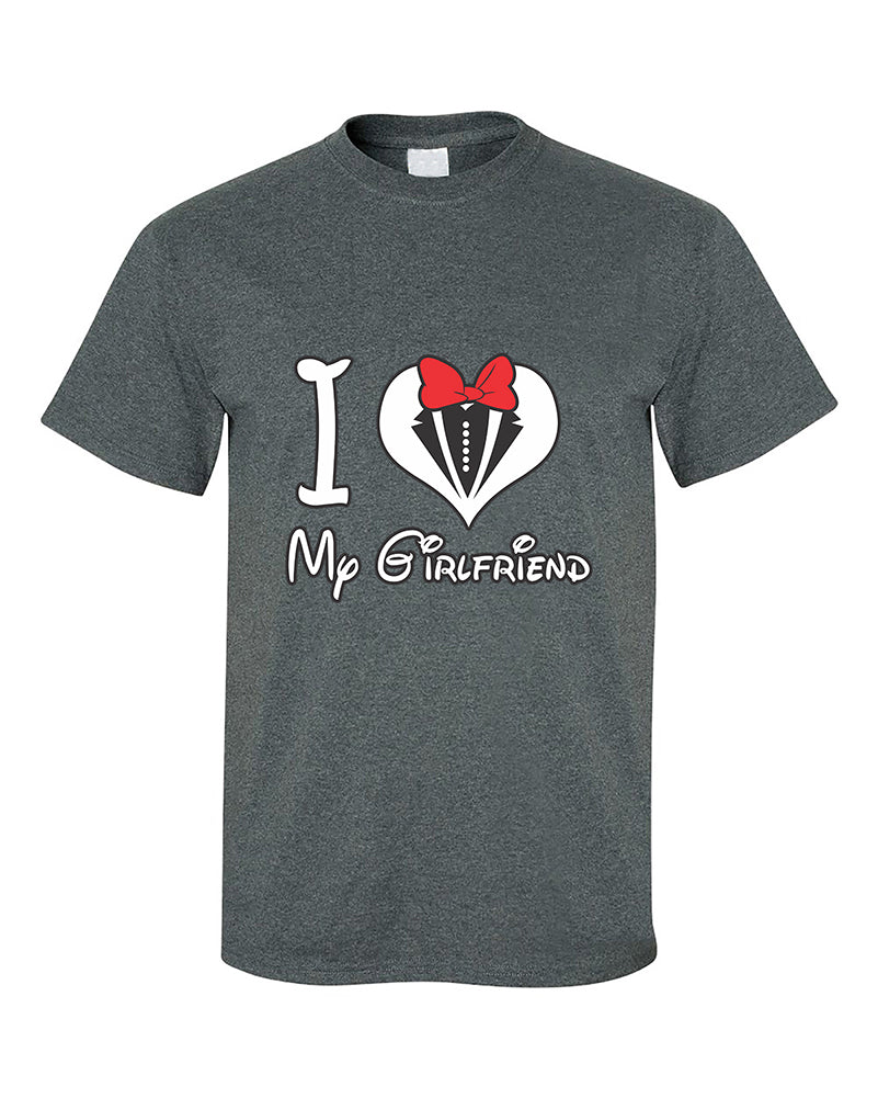 3c17e6025943 I love My Girlfriend Heart Couples Matching loves Valentine s Day ...