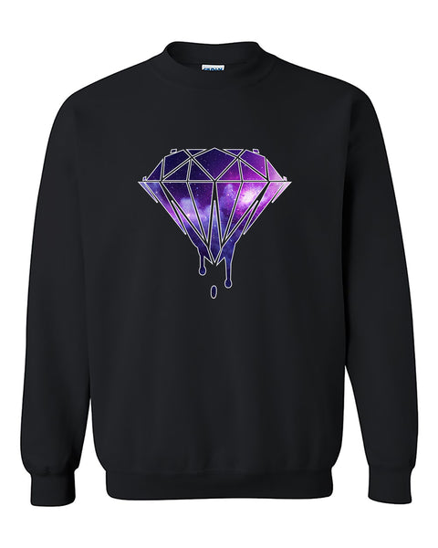 Bleeding Dripping Galaxy Diamond Fashion Best Selling Crewneck Sweater