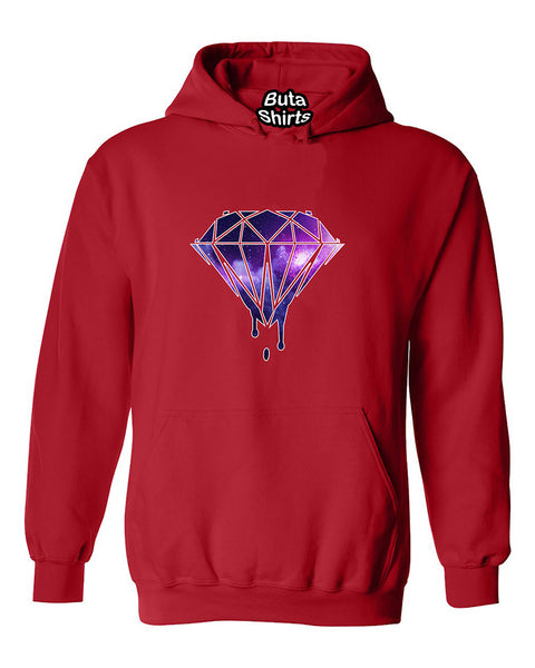 Bleeding Dripping Galaxy Diamond Fashion Best Selling Unisex Hoodie