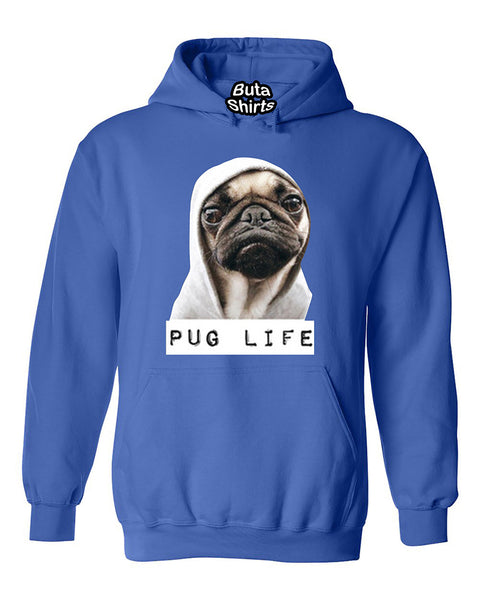 Pug Life Funny Puppy Unisex Hoodie