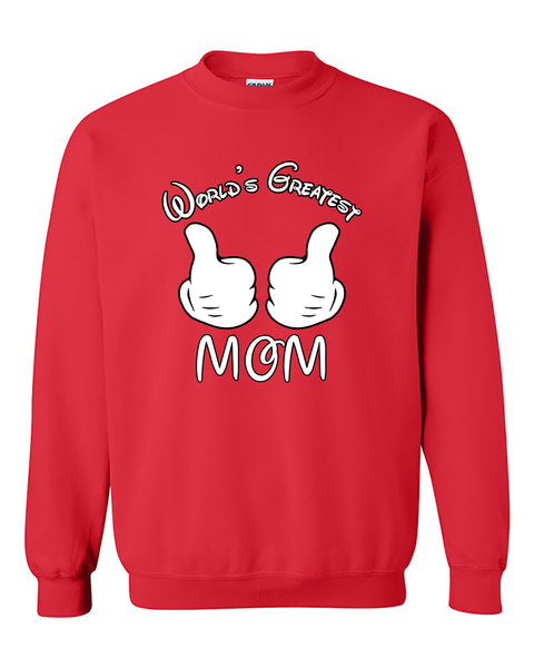 World's Greatest Mom Mother's Day gift Crewneck Sweater