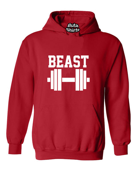 Beast Couples GYM Workouts Valentine's Day Gift Unisex Hoodie