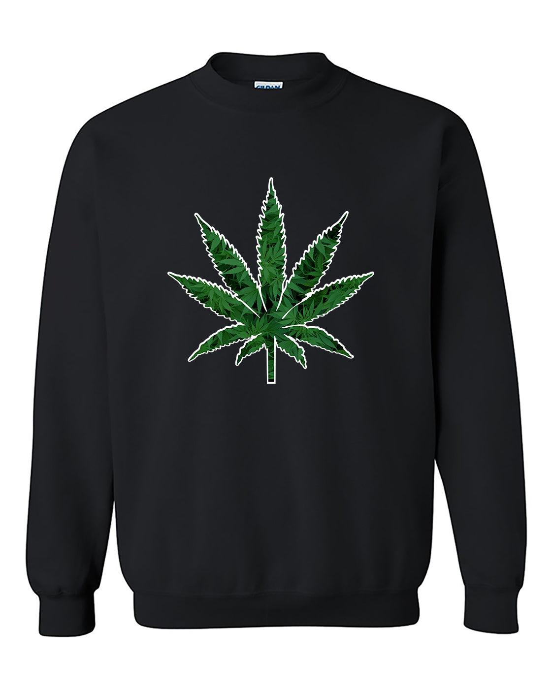 Marijuana Leaf Pot Leaf 420 Weed Marijuana smokers Crewneck Sweater
