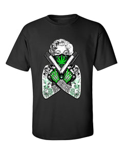marilyn-monroe-gangster-bandana-weed-pattern-weed-smoking-t-shirt