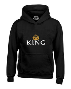King Crown Couples Valentine's Day Gift Unisex Hoodie