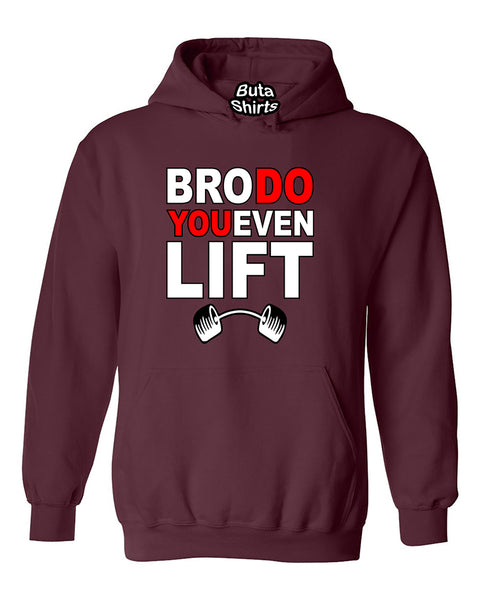 Bro Do You Even Lift Funny Fitness Gym Workout Motivation Unisex Hoodie