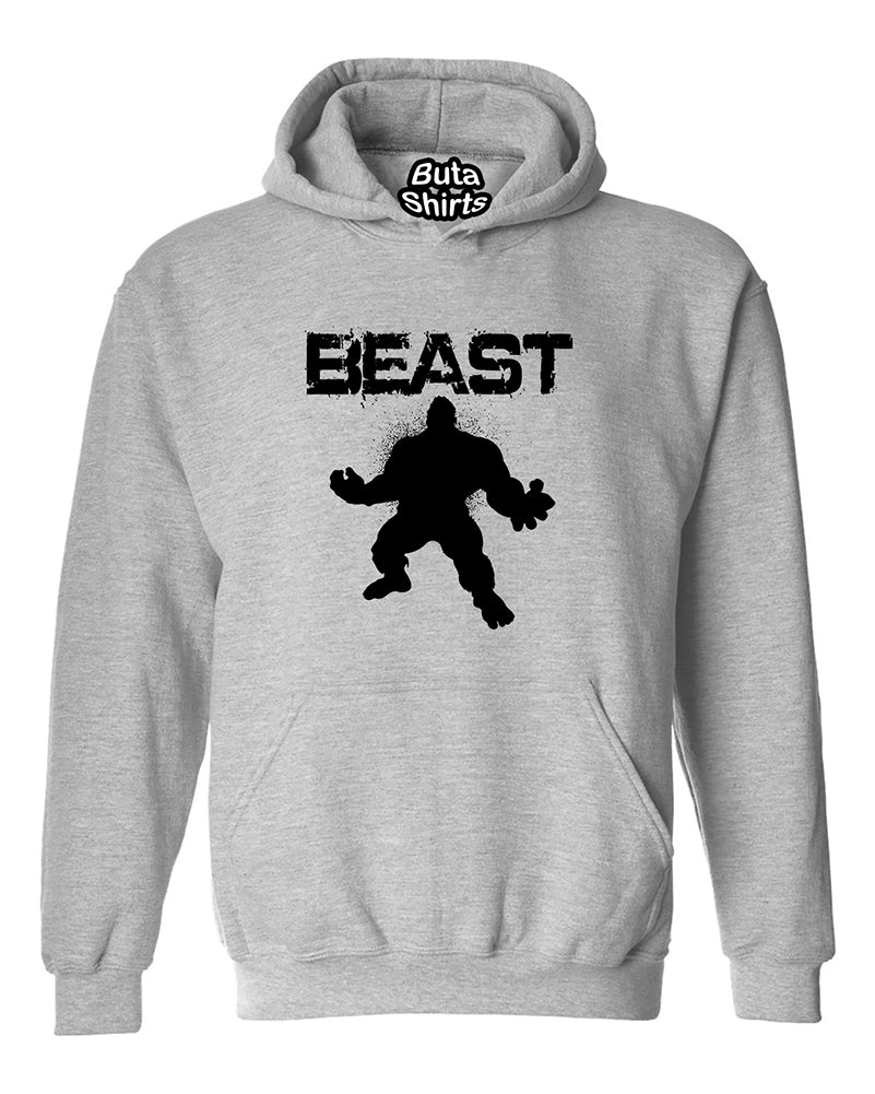 Beast Fitness Gym Workout Motivation Unisex Hoodie
