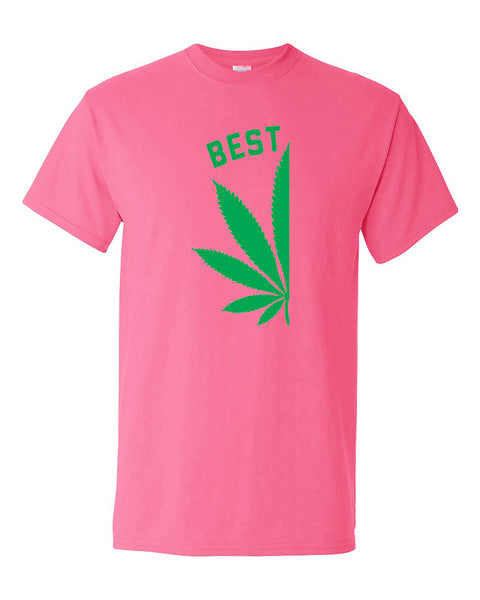 best-buds-pot-leaf-left-couples-matching-smoking-couples-t-shirt