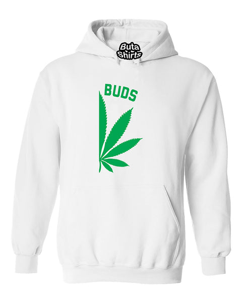 Best Buds Pot Leaf Right Couples Matching Smoking Couples Unisex Hoodie
