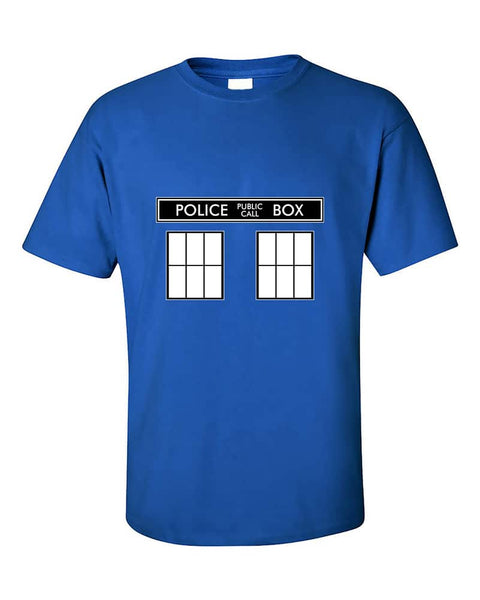police-public-call-box-t-shirt