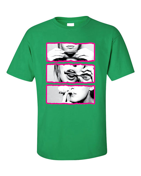 blunt-roll-pink-lips-joint-420-joint-weed-smoker-shirts-t-shirt