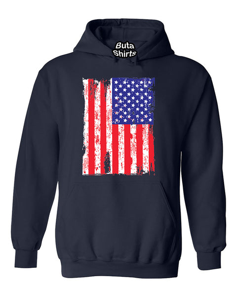 USA Flag Vintage American Flag Native Independence day Unisex Hoodie