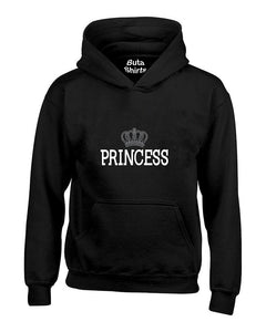Princess Crown Couples Matching s Valentine's Day Gift Unisex Hoodie