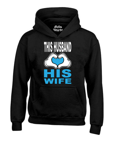 This Husband Loves His Girlfriend Couples Valentine's Day Gift Unisex Hoodie