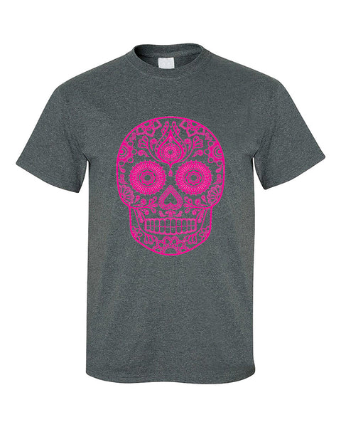 sugar-skull-pink-cute-t-shirt