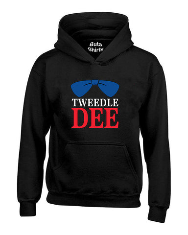 Tweedle Dee RED Funny Couples Valentine's Day Gift Unisex Hoodie